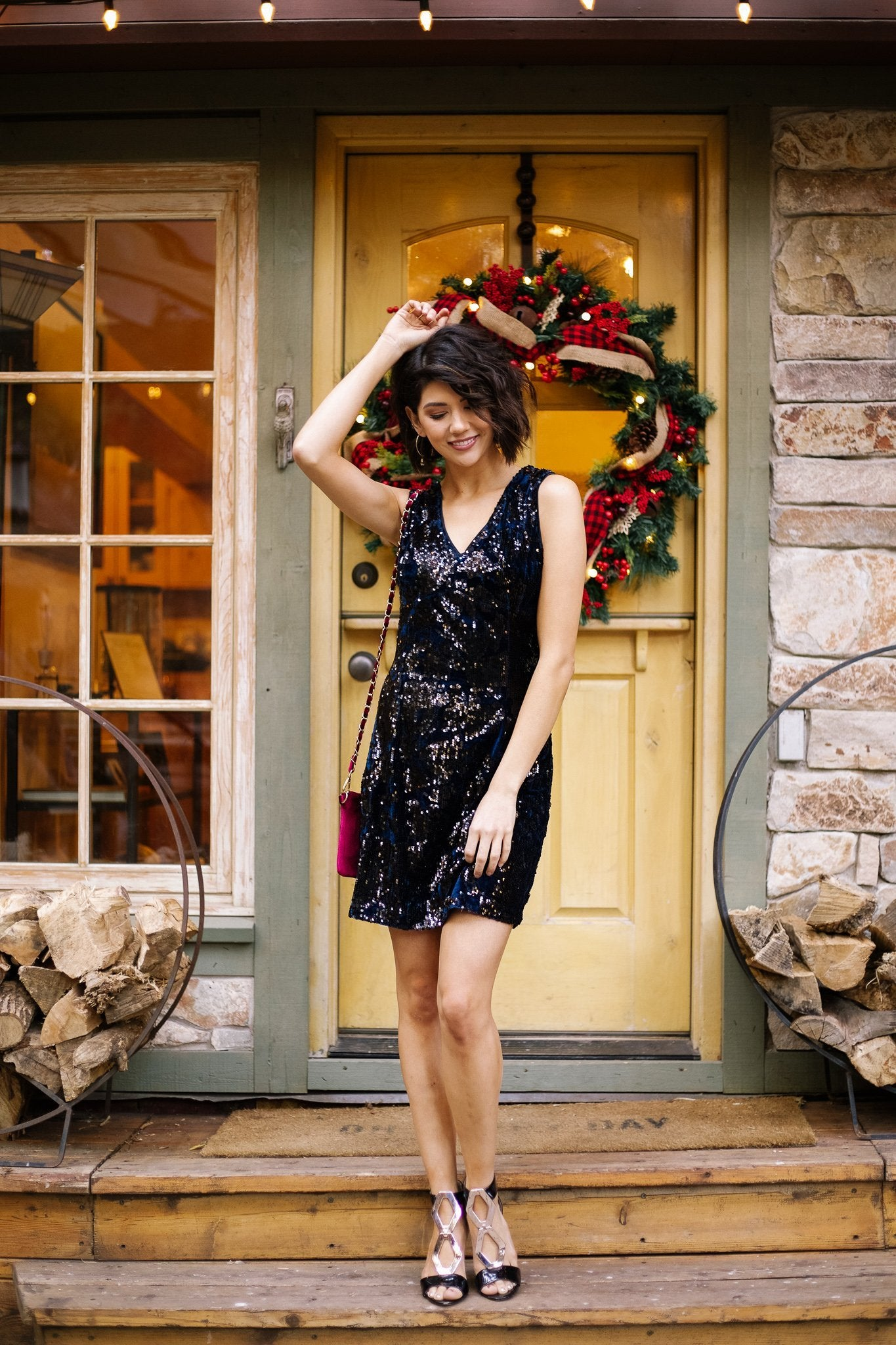 A Kiss At Midnight Sequin Dress-[option4]-[option5]-[option6]-[option7]-[option8]-Womens-Clothing-Shop