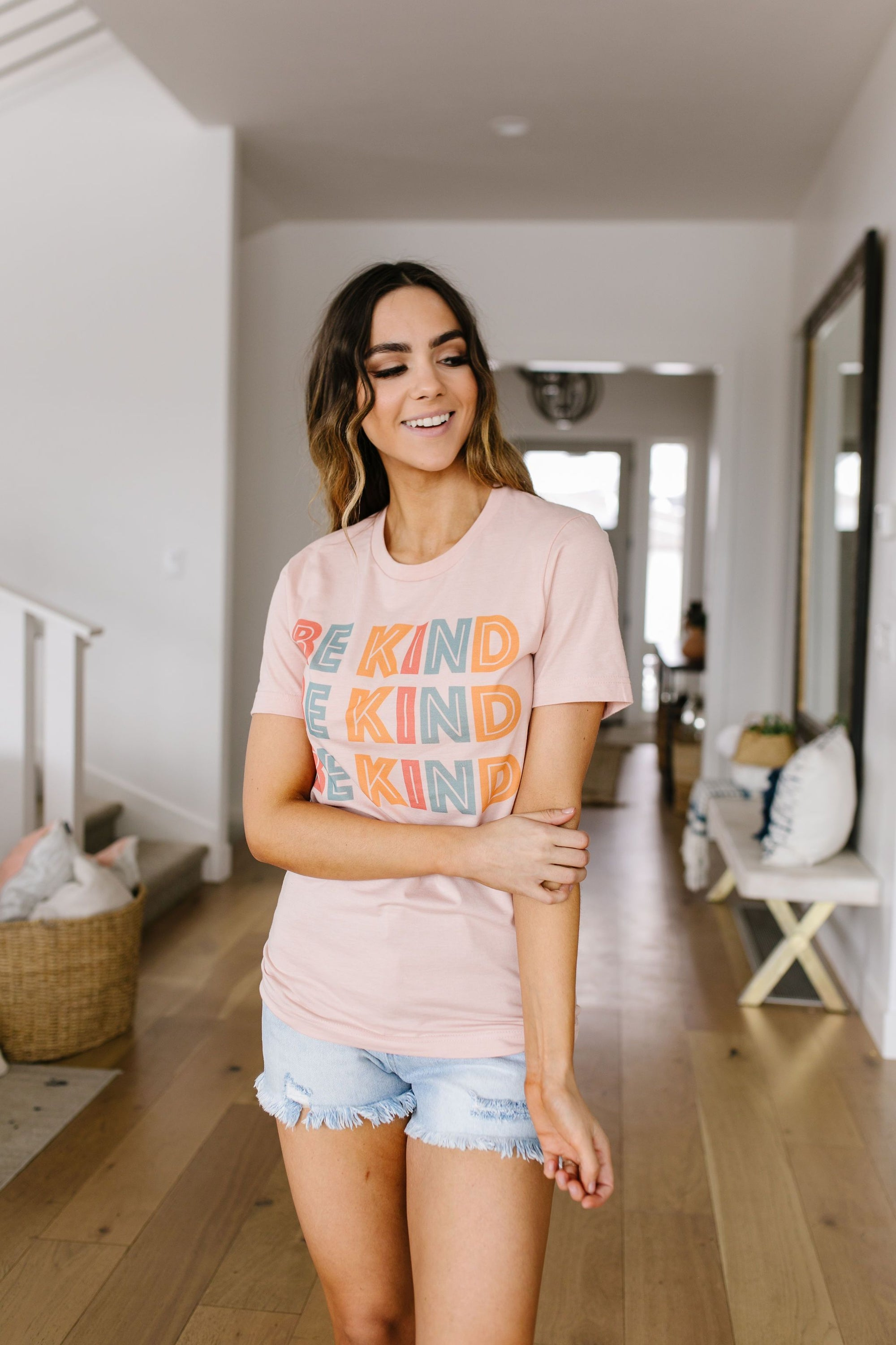 Be Kind Graphic Tee *Final Sale*-[option4]-[option5]-[option6]-[option7]-[option8]-Womens-Clothing-Shop