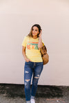 Be Kind Graphic Tee In Lemon-[option4]-[option5]-[option6]-[option7]-[option8]-Womens-Clothing-Shop
