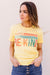 Be Kind Graphic Tee In Lemon *Final Sale*-[option4]-[option5]-[option6]-[option7]-[option8]-Womens-Clothing-Shop