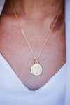 Bee-autiful Coin Necklace-[option4]-[option5]-[option6]-[option7]-[option8]-Womens-Clothing-Shop