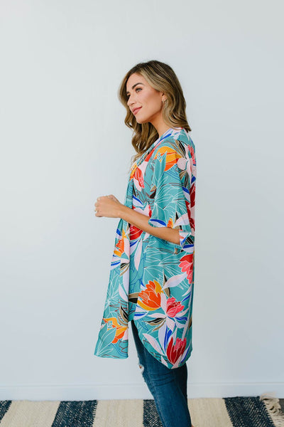Bird of Paradise Kimono-[option4]-[option5]-[option6]-[option7]-[option8]-Womens-Clothing-Shop
