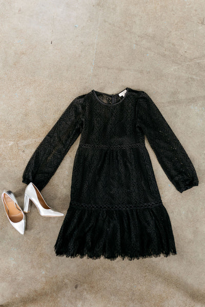 Bring On The Holidays Crochet Lace Dress-[option4]-[option5]-[option6]-[option7]-[option8]-Womens-Clothing-Shop