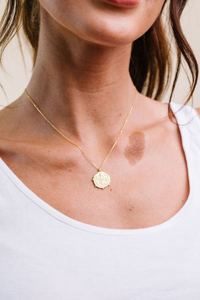 Buried Treasure Coin Necklace-[option4]-[option5]-[option6]-[option7]-[option8]-Womens-Clothing-Shop