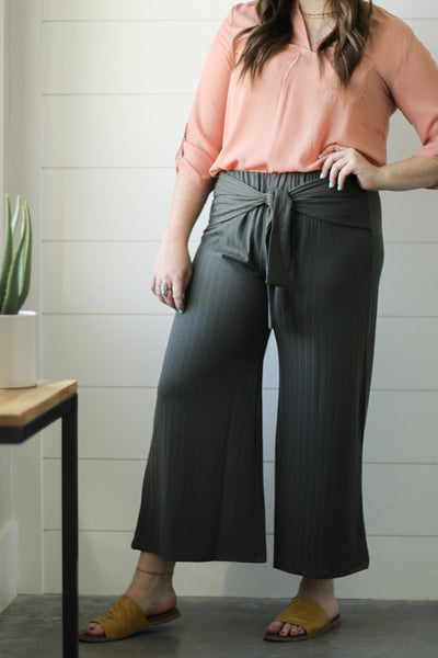 Casual Stroll Cropped Pants-[option4]-[option5]-[option6]-[option7]-[option8]-Womens-Clothing-Shop