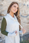 Comfort Zone Cowl Neck Top In Olive-[option4]-[option5]-[option6]-[option7]-[option8]-Womens-Clothing-Shop