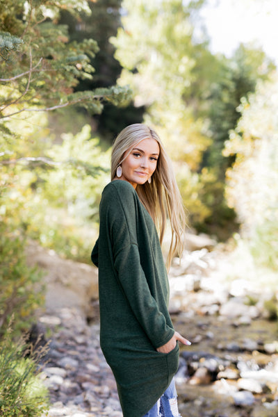 Creature Comforts Tunic In Forrest Green-[option4]-[option5]-[option6]-[option7]-[option8]-Womens-Clothing-Shop