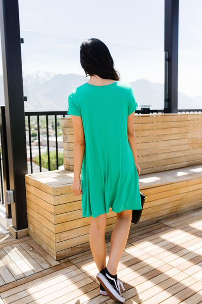Don't Blink Kelly Green Dress-[option4]-[option5]-[option6]-[option7]-[option8]-Womens-Clothing-Shop