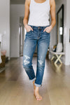 Ex Boyfriend Distressed Jeans-[option4]-[option5]-[option6]-[option7]-[option8]-Womens-Clothing-Shop