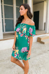 Green Tropics Dress-[option4]-[option5]-[option6]-[option7]-[option8]-Womens-Clothing-Shop