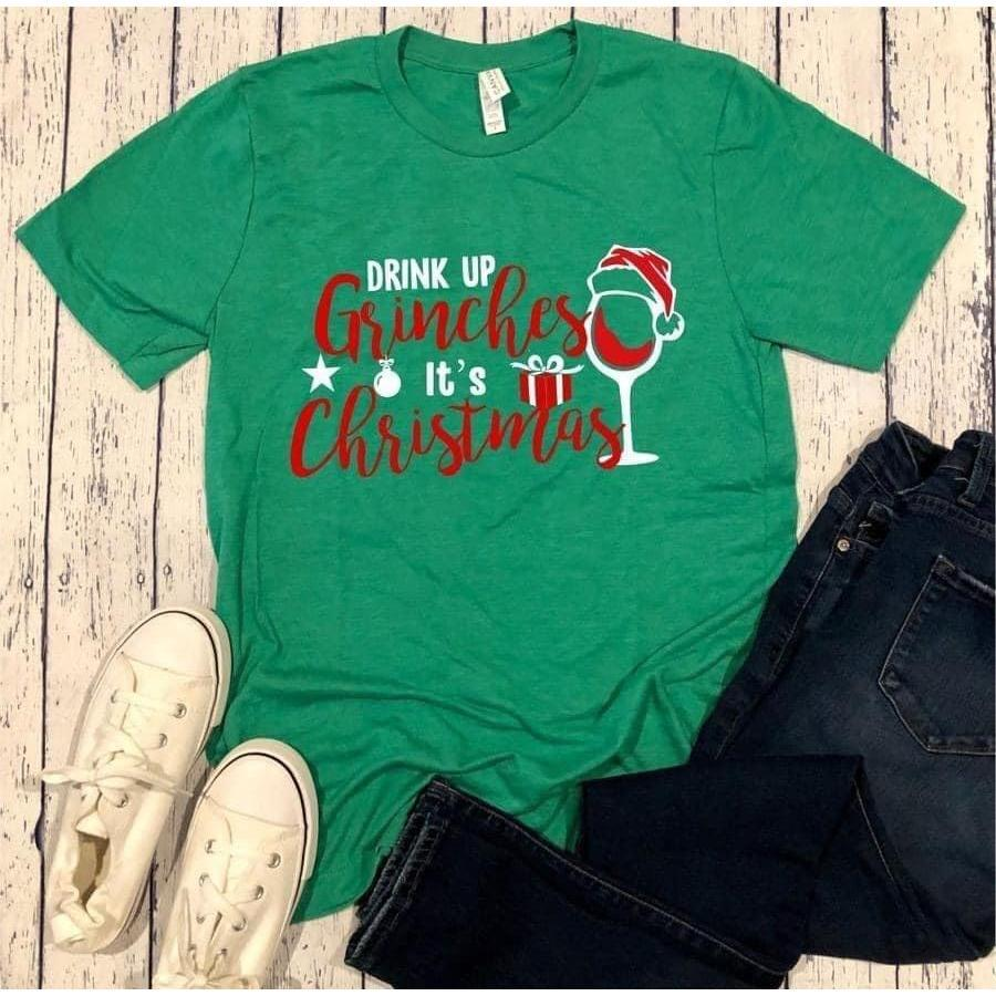 Drink Up Grinches-[option4]-[option5]-[option6]-[option7]-[option8]-Womens-Clothing-Shop