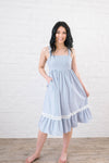 Kimberly Striped Sun Dress-[option4]-[option5]-[option6]-[option7]-[option8]-Womens-Clothing-Shop