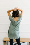 Love The Lace Top In Sage-[option4]-[option5]-[option6]-[option7]-[option8]-Womens-Clothing-Shop