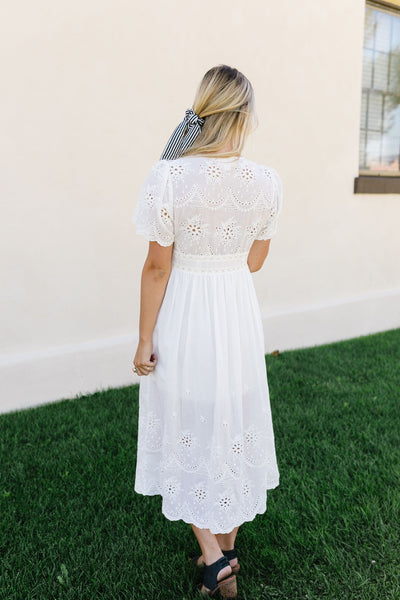 Made For Romance Lace Midi Dress *Final Sale*-[option4]-[option5]-[option6]-[option7]-[option8]-Womens-Clothing-Shop