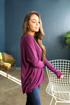 Magnificent Magenta Soft Ribbed Top-[option4]-[option5]-[option6]-[option7]-[option8]-Womens-Clothing-Shop