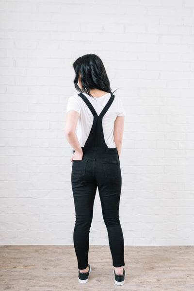 Midnight Skinny Overalls-[option4]-[option5]-[option6]-[option7]-[option8]-Womens-Clothing-Shop