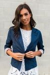 Navy Blazer-[option4]-[option5]-[option6]-[option7]-[option8]-Womens-Clothing-Shop
