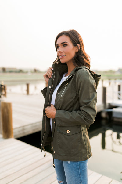 Olive Cargo Jacket-[option4]-[option5]-[option6]-[option7]-[option8]-Womens-Clothing-Shop