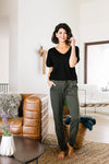 Olive You More Joggers-[option4]-[option5]-[option6]-[option7]-[option8]-Womens-Clothing-Shop