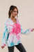 Pink Sunburst Tie Dye Hoodie-[option4]-[option5]-[option6]-[option7]-[option8]-Womens-Clothing-Shop