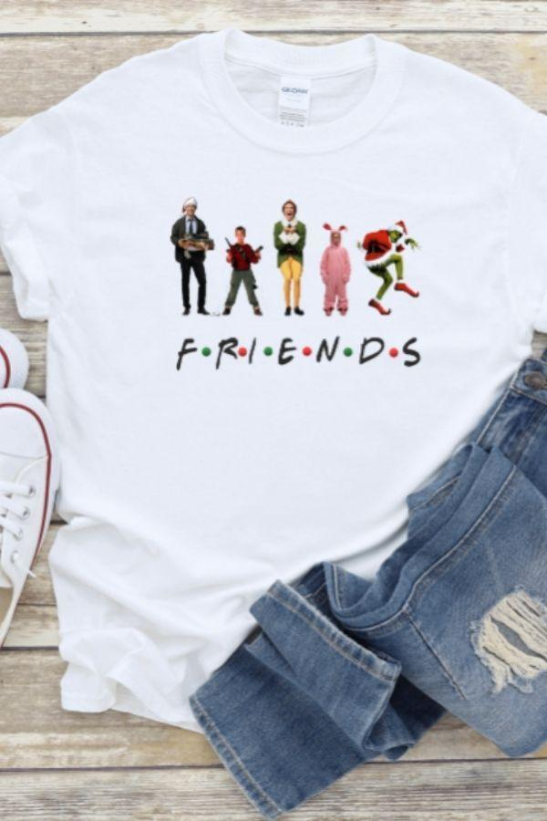 "Christmas ""Friends""-[option4]-[option5]-[option6]-[option7]-[option8]-Womens-Clothing-Shop"