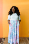 Santa Ana Tie Dye Maxi In Mint-[option4]-[option5]-[option6]-[option7]-[option8]-Womens-Clothing-Shop