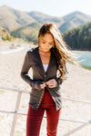Snap Out Of It Cardigan in Charcoal-[option4]-[option5]-[option6]-[option7]-[option8]-Womens-Clothing-Shop