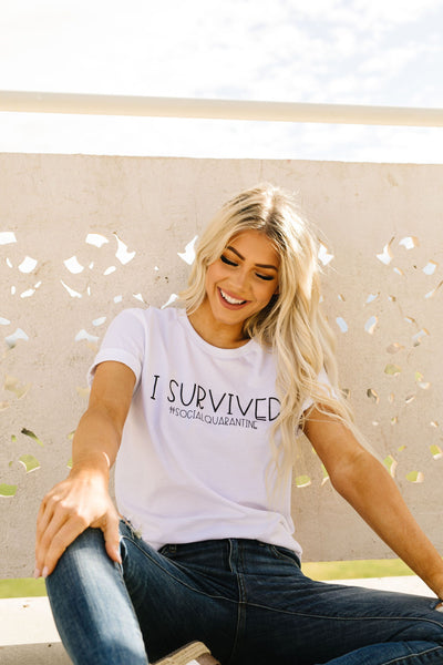 Survivor Graphic Tee-[option4]-[option5]-[option6]-[option7]-[option8]-Womens-Clothing-Shop