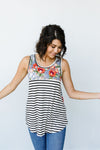 Tank Heavens Floral & Stripes Top-[option4]-[option5]-[option6]-[option7]-[option8]-Womens-Clothing-Shop