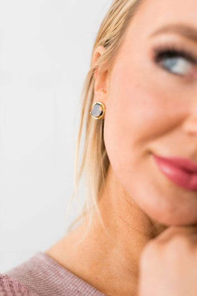 Tortoise Circle Earrings-One Size-[option4]-[option5]-[option6]-[option7]-[option8]-Womens-Clothing-Shop