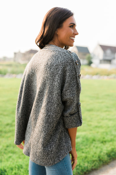 Winthrop Sweater in Charcoal-[option4]-[option5]-[option6]-[option7]-[option8]-Womens-Clothing-Shop