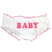 """Baby"" Ruffled Trim Panties"