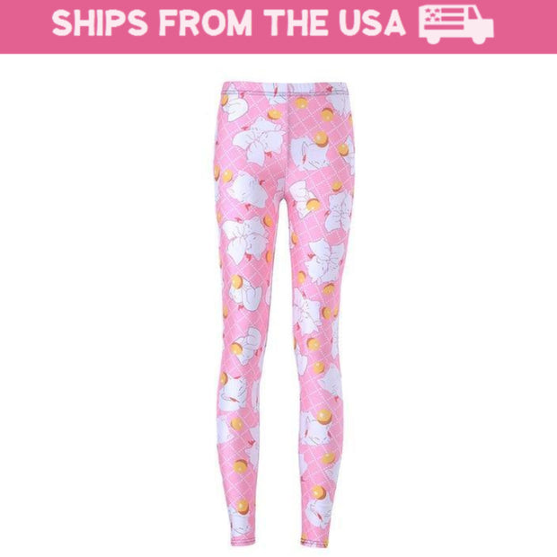 Kawaii Kitten Leggings