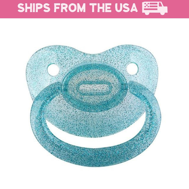 Blue Shimmer Adult Pacifier