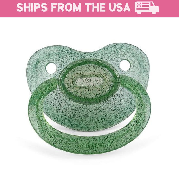 Green Shimmer Adult Pacifier