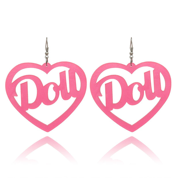 Doll Earrings (2 Colors Available)