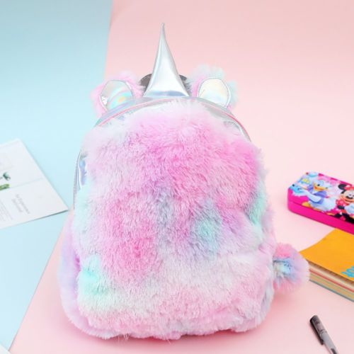 Plush Unicorn Mini Backpack