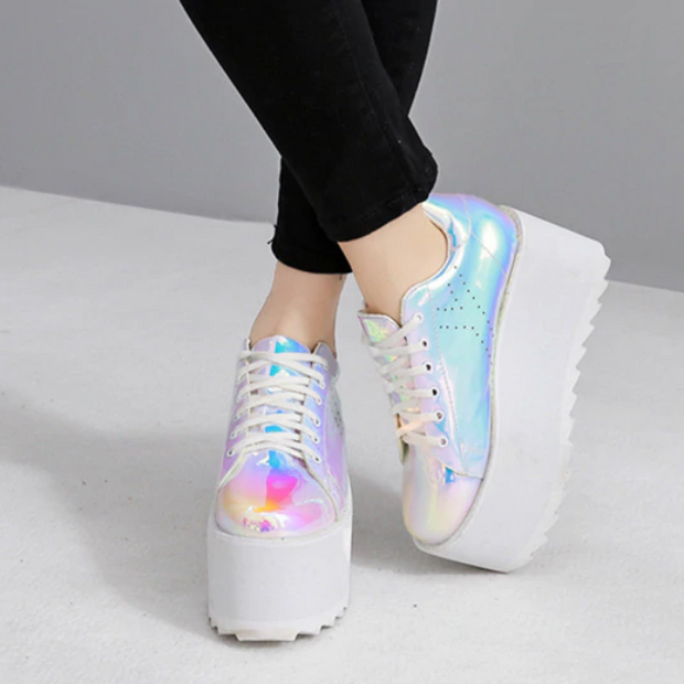 Holo-Platform Sneakers