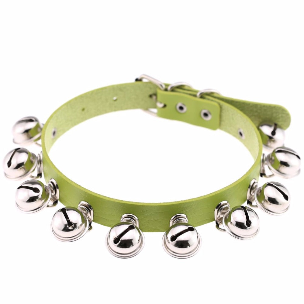 Jingle Bell Kitten Collar (14 Colors Available)