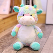 Colorful Pastel Giraffe Plushie