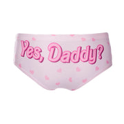 """Yes, Daddy?"" Panties"