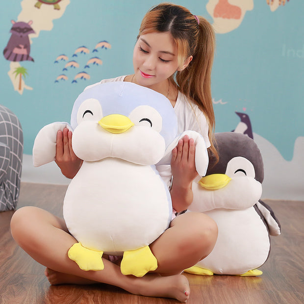 Chubby Penguin Plushie (2 Colors Available)