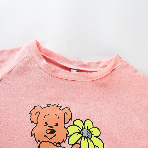 """Small Dick"" Teddy Bear Crop Top"