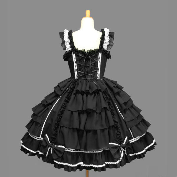 Little Maid Chiffon Lace Lolita Dress