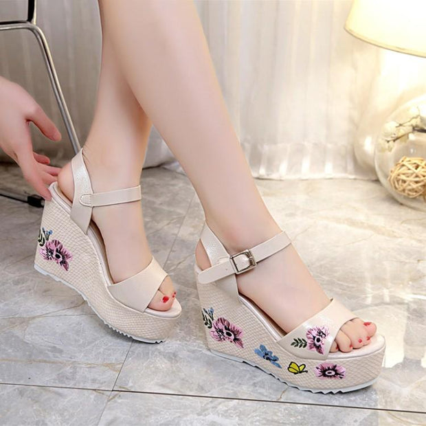 Springtime Baby Platform Sandals (3 Colors Available)