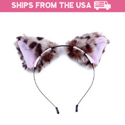 Little Kitten Ears Headband (6 Colors Available)