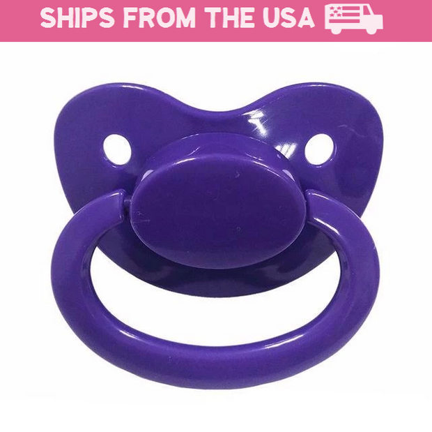 Purple Adult Pacifier