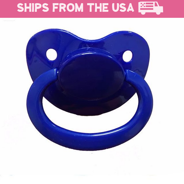 Royal Blue Adult Pacifier