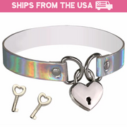 Holo Lock Collar (4 Colors Available)