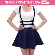 Kawaii Suspender Mini Skirt (6 Colors Available)